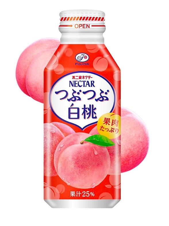 Néctar de Melocotón Blanco Japonés Momo | Huerto de Pekochan | Botella de Aluminio 380g