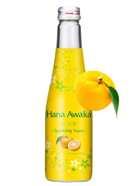 Sake Yuzu Sparkling | Sake Espumoso de Cítrico Yuzu 250 ml.