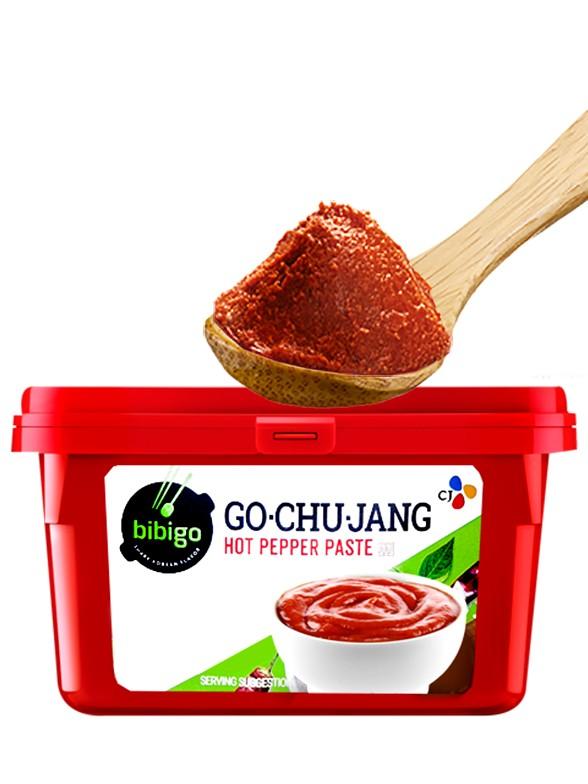 Salsa Coreana de Guindilla, Arroz y Soja, Gochujang 500 grs.
