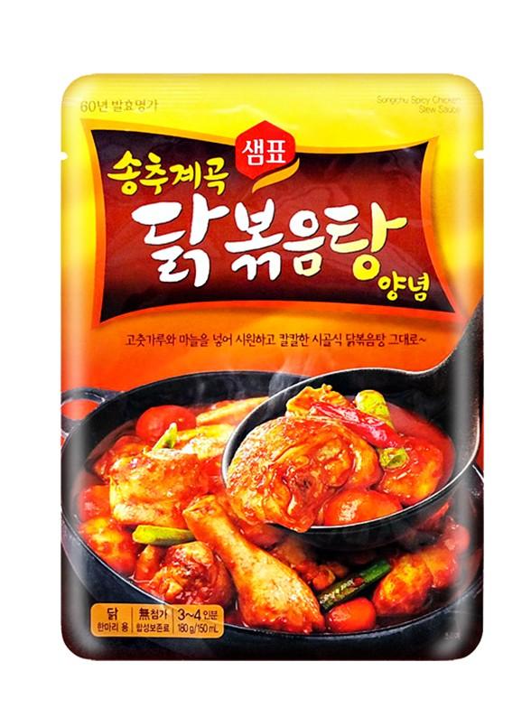 Salsa Coreana para Guiso de Pollo Picante 180 grs