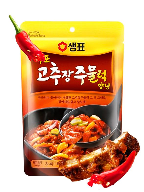 Salsa Coreana para Guiso de Cerdo Picante 180 grs