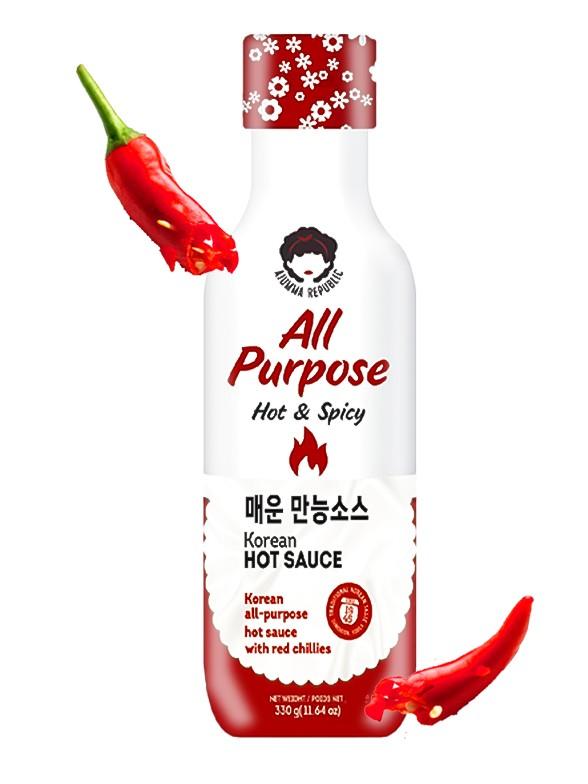 Salsa Coreana Hot & Spicy | Receta de Suncheon 330 grs.
