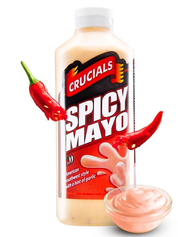 Salsa Mayonesa Picante Crucials 500 ml.