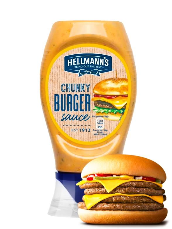 Salsa Burger Chunky | Hellmann's 258 grs.