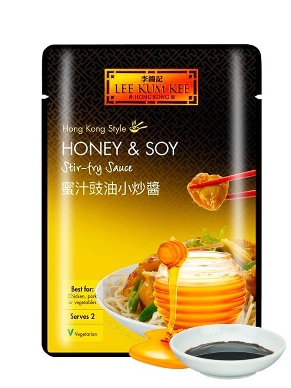 Salsa de Miel y Soja | Lee Kum Kee 70 grs.