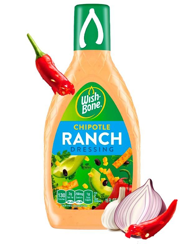 Salsa Ranch Chipotle 444 ml