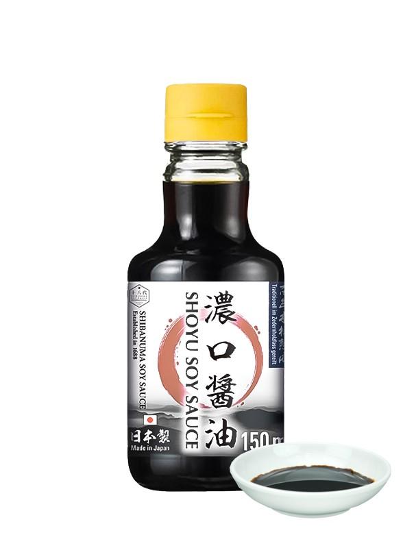Salsa de Soja Koikuchi Shoyu   Shibanuma 150 ml