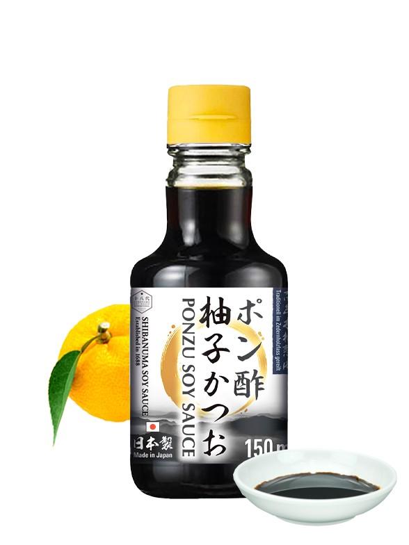 Salsa de Soja Ponzu Shoyu   Shibanuma 150 ml
