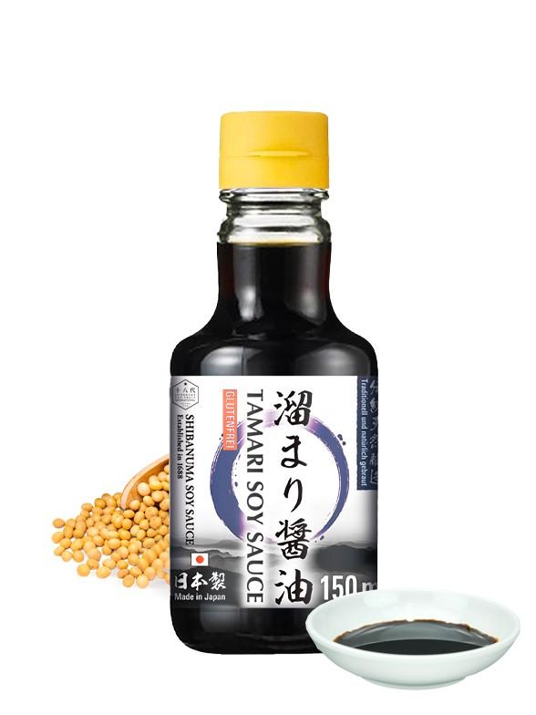 Salsa de Soja Tamari | Shibanuma 150 ml