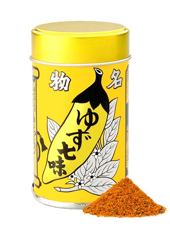 Yuzu Shichimi, 7 Especias Extra Yuzu | Lata 12 grs. | Pedido GRATIS!