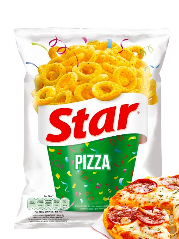 Snack Aros de Pizza | Star Pepsi 70 grs
