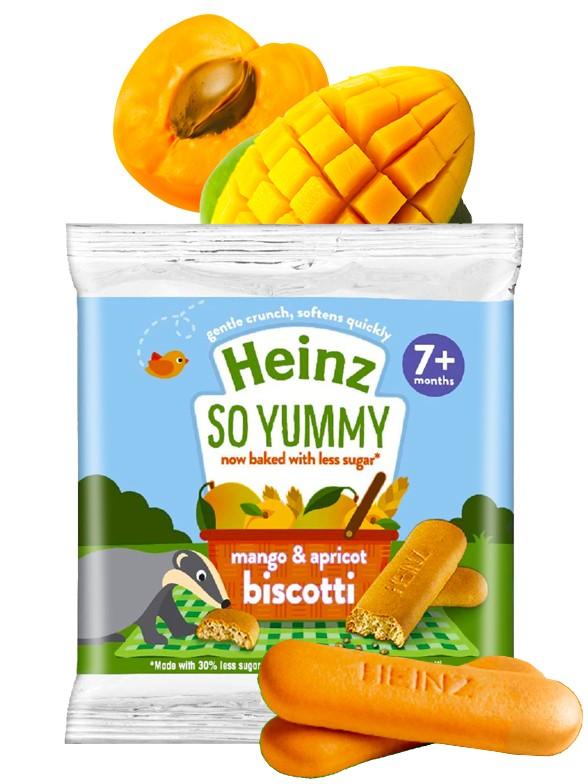 Galletas de Mango y Albaricoque para Bebés 60 grs.