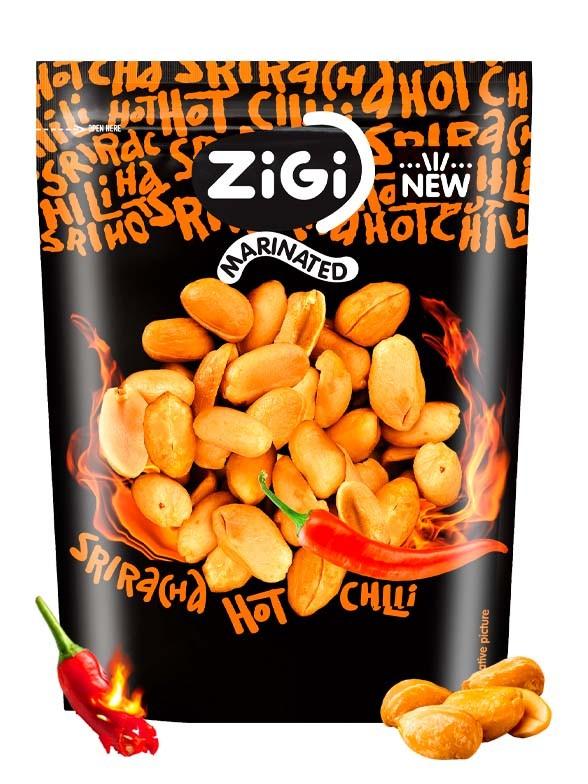 Snack de Cacahuetes Sriracha Hot Chili | Edición Especial 70 grs.