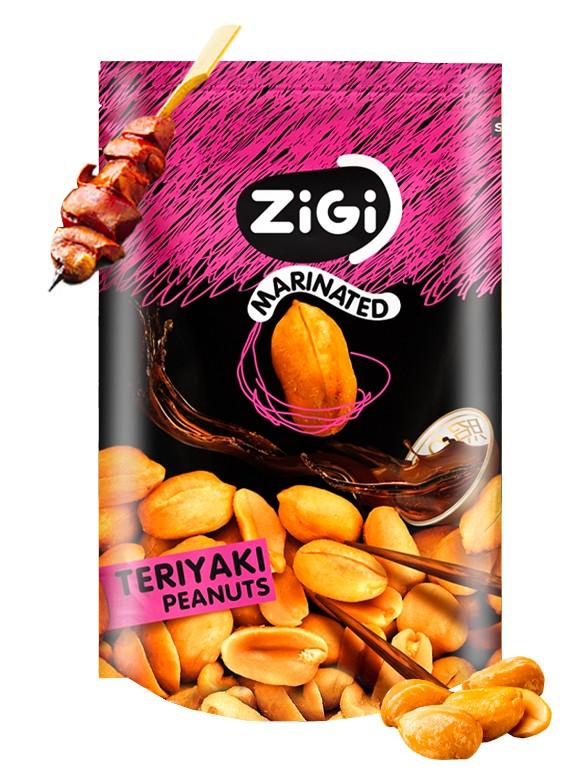 Snack de Cacahuetes sabor Teriyaki   Edición Especial 91 grs.