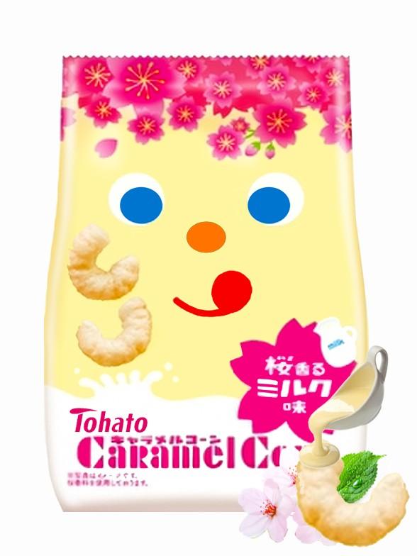 Snack Lovely Tohato Caramel Sakura Leche Condensada 77 grs.