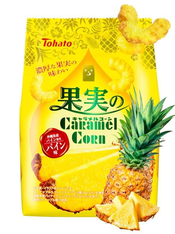 Snack Lovely Tohato Piña Luxury 65 grs.