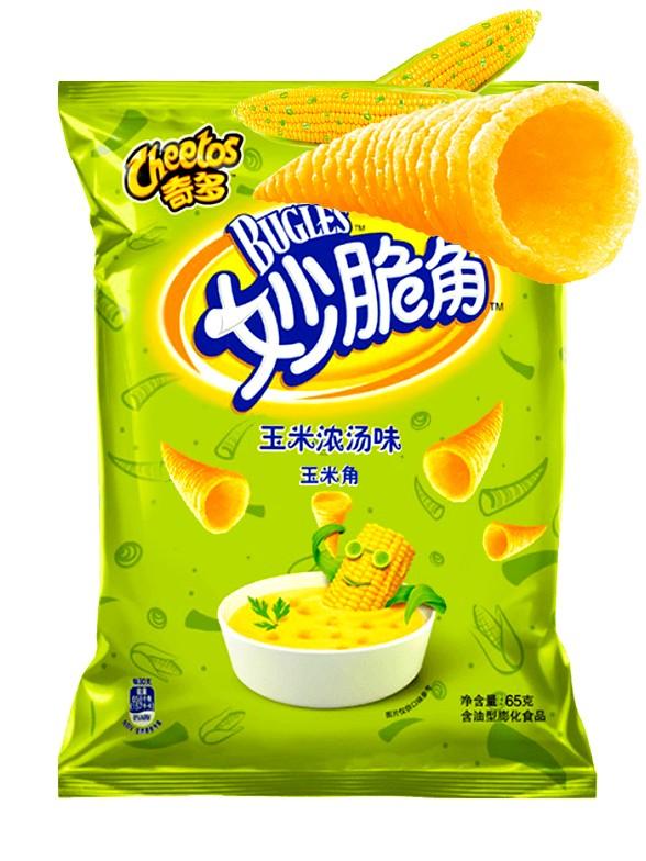 Cheetos 3D Sabor Cebolleta 40 grs