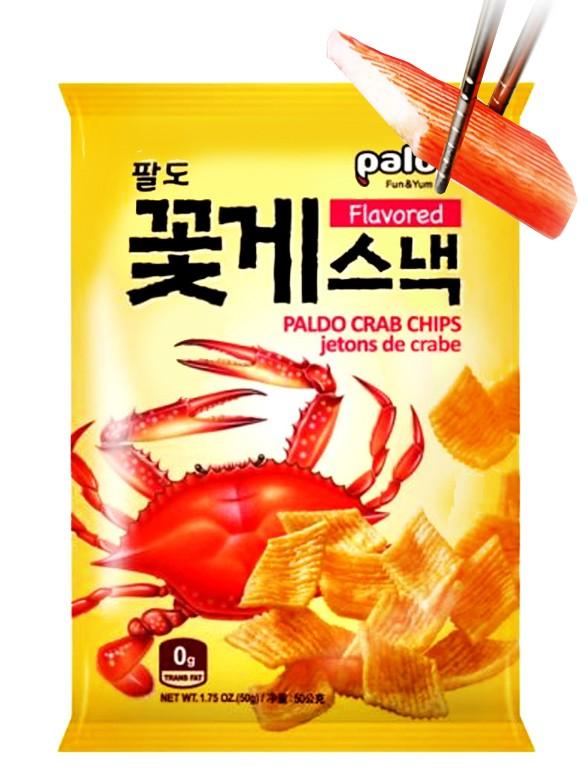 Snack Coreano Sabor Cangrejo