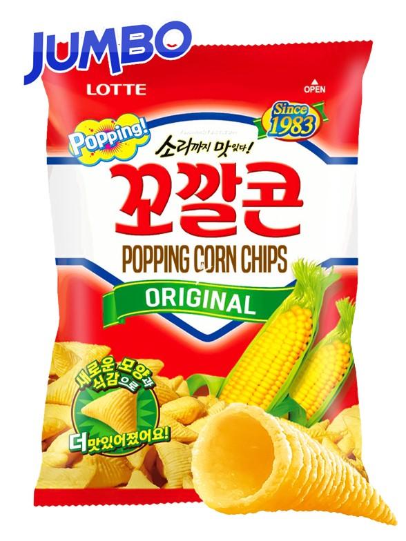 Snack Coreano de Maíz Dulce   Big Bag Jumbo 144 grs.   Pedido GRATIS!