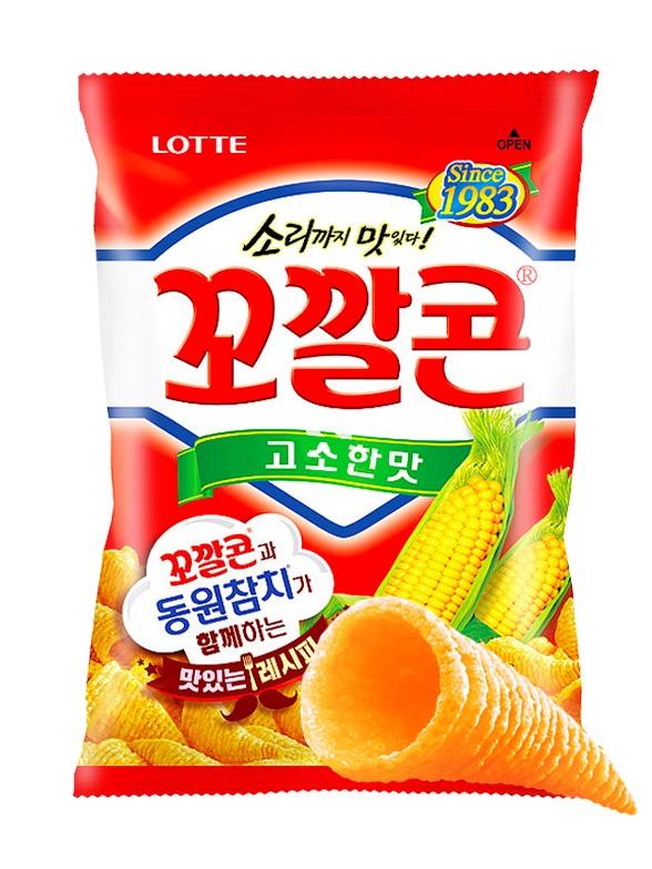 Snack Coreano de Maíz Dulce 72 grs.