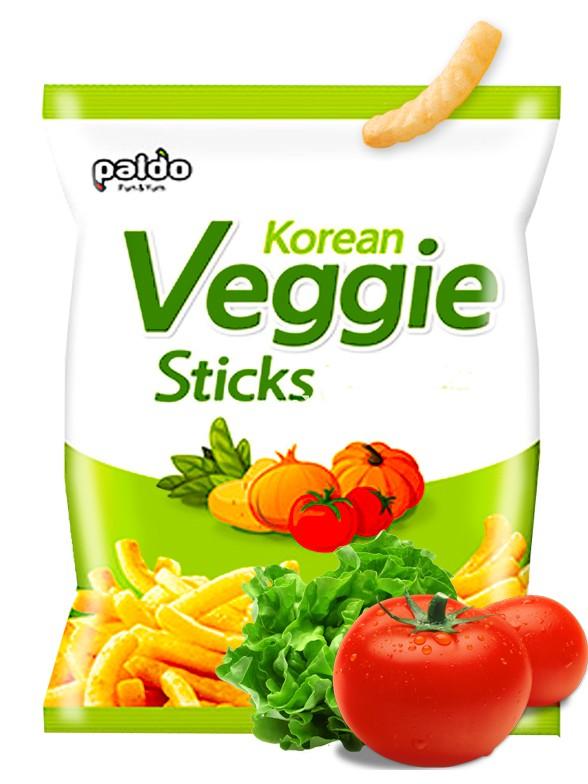 Snack Coreano de Vegetales   50 grs.