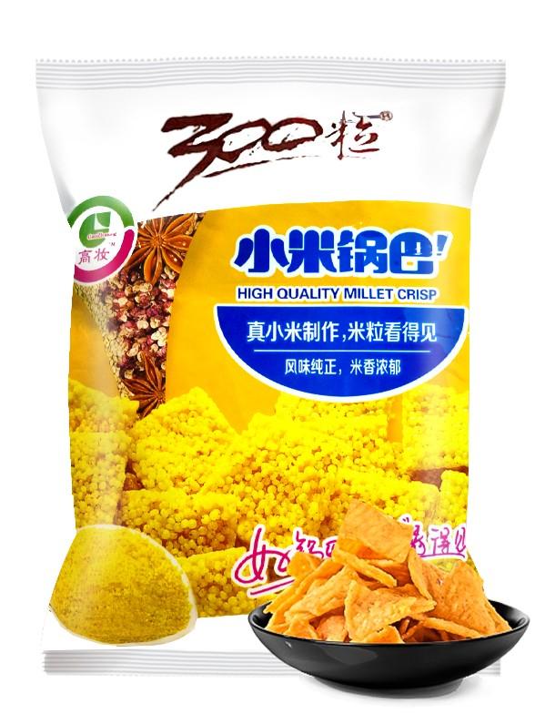 Snack Crujiente de Mijo 300 Granos a las 5 Especias 60 grs