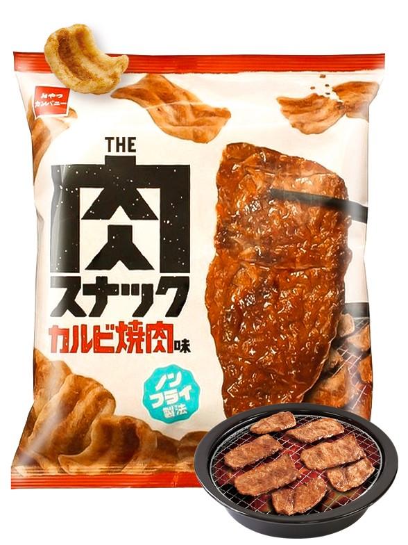 Snack Crujiente Sabor Carne Asada Yakiniku | 52 grs.