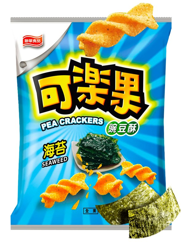 "Snack Twist Sayaendō estilo ""Fritos""   Nori Tostada"