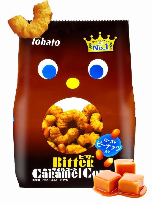 Snack Lovely Tohato Caramelo Tostado | Caramel Corn 77 grs