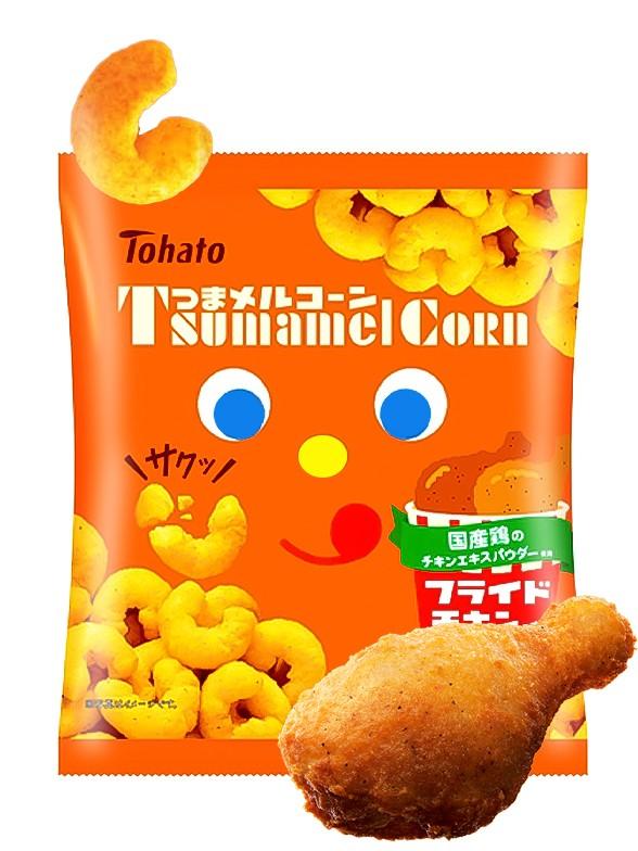 Snack Lovely Tohato Pollo Frito   Caramel Corn 65 grs