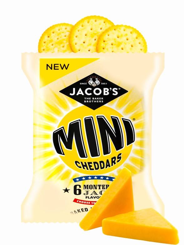 Galletitas Mini Cheddar Sabor Monterey Jack 25 grs   Pedido GRATIS!
