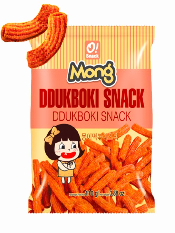 Snack Coreano Sabor Mochis Topokki 110 grs.