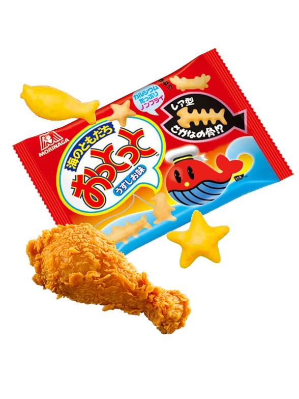 Snack Ballena Okito Usukushi | Sabor Pollo 18 grs. | Pedido GRATIS!