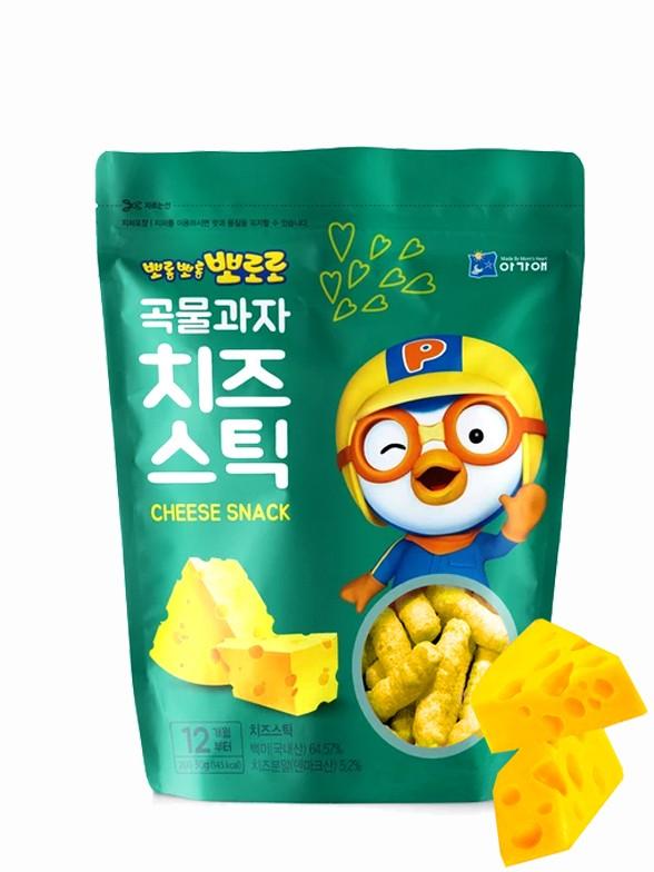 Snack Coreano de Queso 30 grs | Pororo