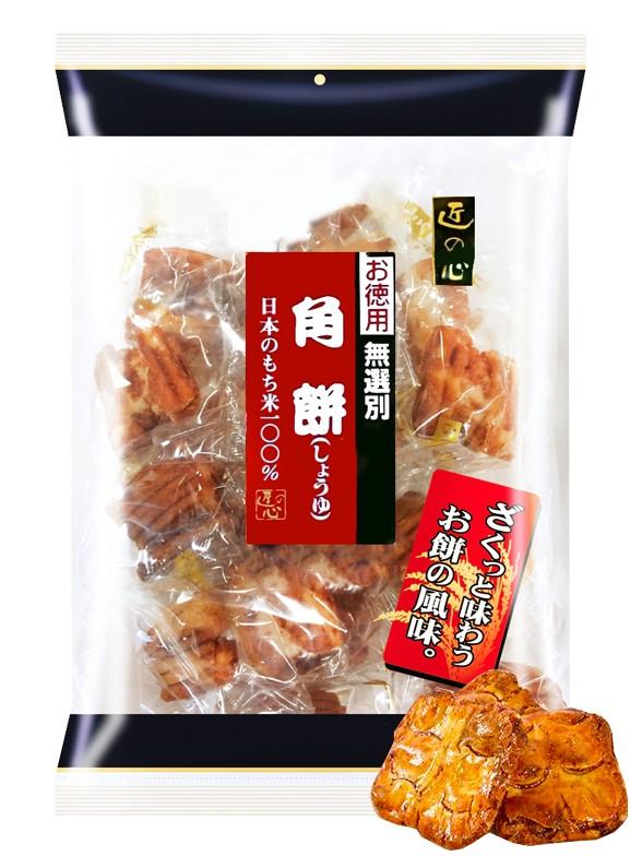 Bocados de Arroz Glutinoso Senbei con Soja y Dashi | 20 Unidades