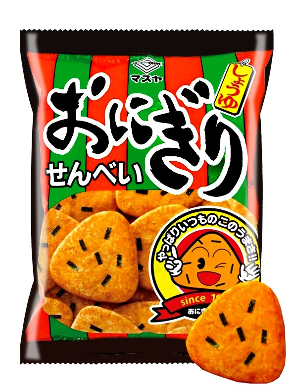 Snack Senbei de Onigiri con Nori 62 grs.