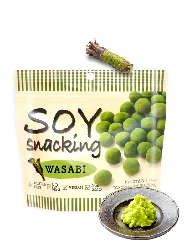 Snack de Soja sabor Wasabi 30 grs