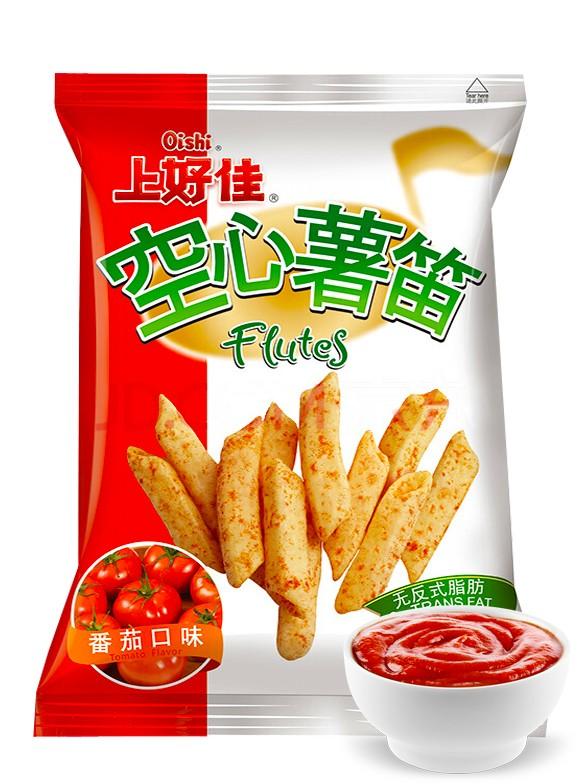 Snack Melodies de Patata con Tomate