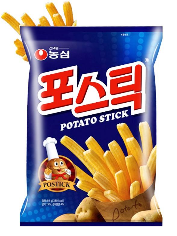 Sticks de Patata Coreana Frita 84 grs