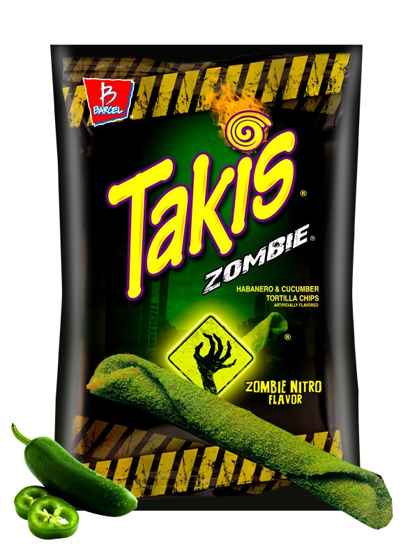 Takis Zombie de Chili Habanero y Pepino 113 grs