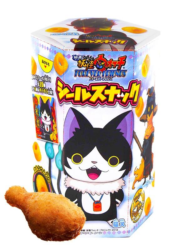 Snack Yo-kai Watch Sabor Pollo Umami   5th Edit. 14 grs