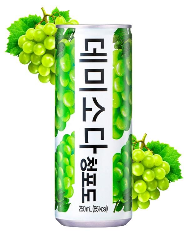 Soda Coreana Demi Soda 11 % Uva 250 ml