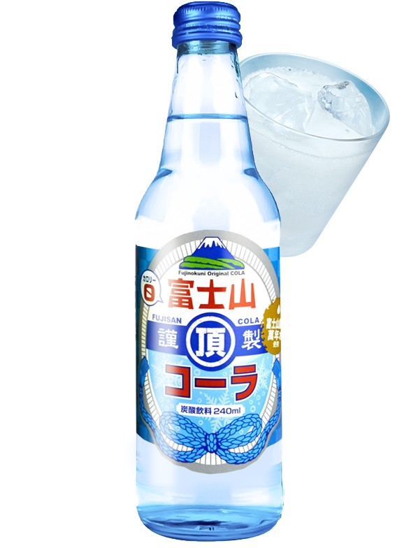 Cola Clear   Mt. Fuji 240 ml.