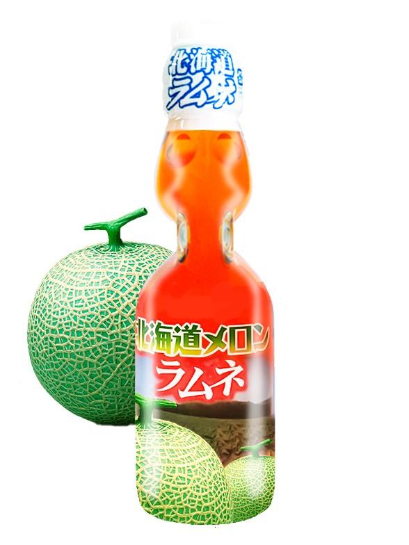 Soda Ramune Melón de Hokkaido | Cooperativa de Yubari 200 ml.