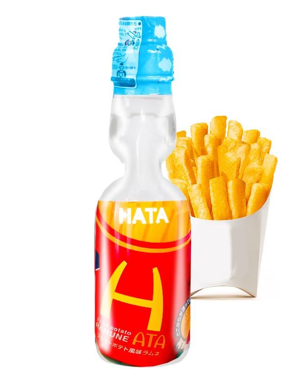 Soda Ramune Sabor Patatas Fritas 250 ml.