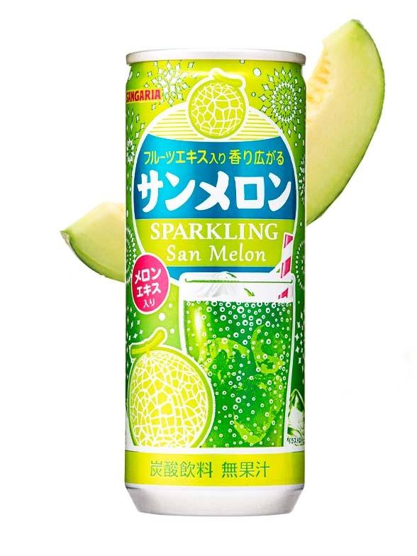 Soda Sparkling Melon   250 ml.