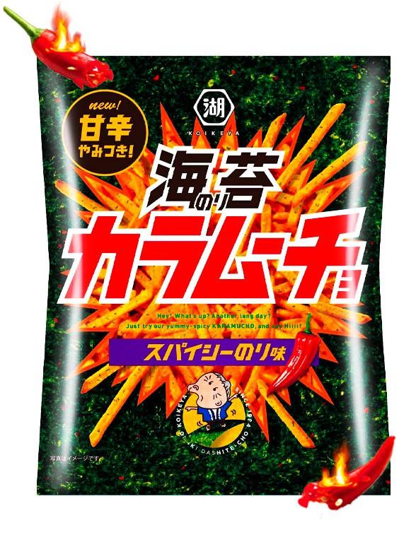 Stick Koikeya Kara Mucho Spicy Nori | Nº1 en Japón 100 grs.