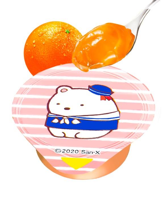 Mini Gelatina de Naranja Sumikko-Gurashi   Diseños Aleatorios   Unidad