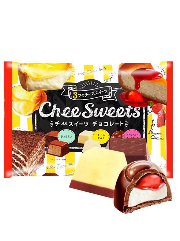 Surtido Bombones Cheese Cakes y Tiramisú 161 grs