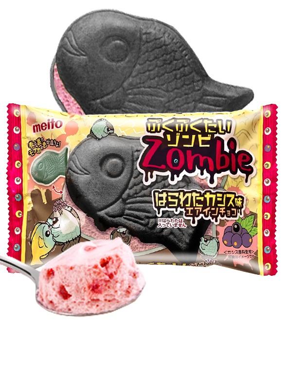 Taiyaki Puku Pukutai Zombie Chocolate y Cassis 16,5 grs